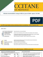 l'Occitane's Ipo - Hkex
