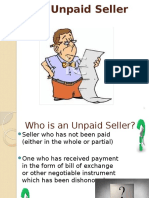 Rights of an Unpaid Seller