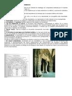 comentario obras románico