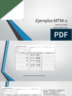 Ejemplos MTM 2
