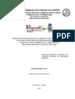 Tesis Analsis de PrTESIS DE MAESTRÍA ACADÉMICA EN GESTIÓN INTEGRAL DE RECURSOS HÍDRICOSoceso de Inundacion Edgar Flores Cota v 3 1