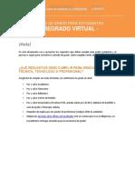 Instructivo Paz y Salvos Grados Pregrado Virtual 2016
