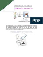 Organizacion de Archivos Actuales