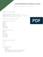 Família de funções ASCC - Matlab