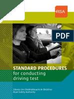 RSA Standards Proced