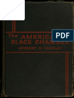 Yardley, Herbert - American Black Chamber