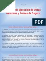 Clase 03 - Contrato de Ejec Obras-Garantías y Polizas de Seguro