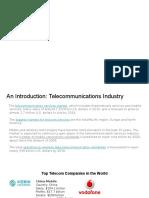 IST 755 Telecom Industry Analysis