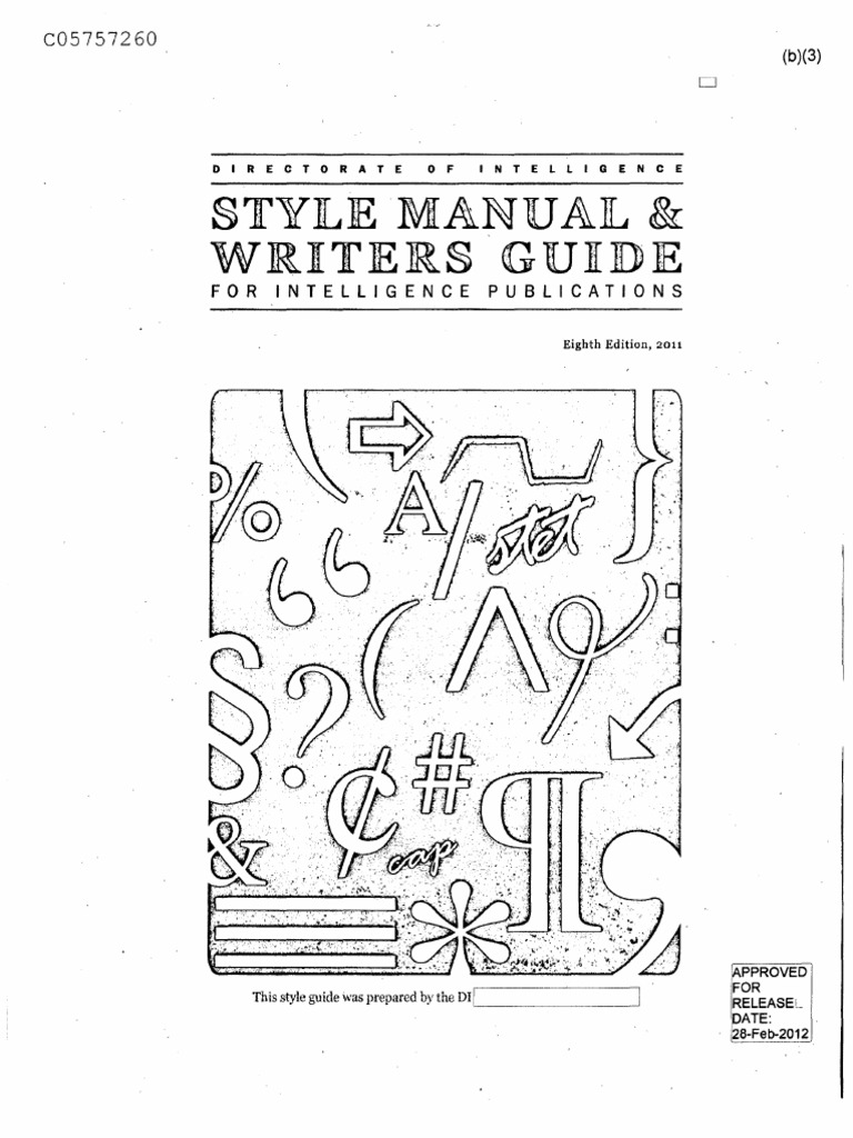 Style Manual And Writers Guide For Intelligence Publications Applied Research Par 122 Lockin Amplifier W Vtg Rack Mount