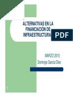 Alternativas en La Financiacion Infraestructuras