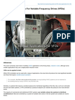 The Best Applications for Variable Frequency Drives VFDs