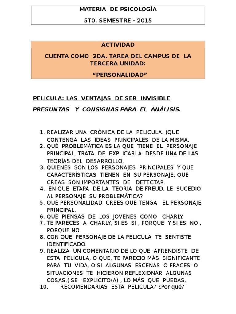las ventajas de ser invisible libro pdf gratis en español