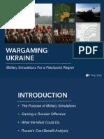 Ukraine Wargames Slideshare Final