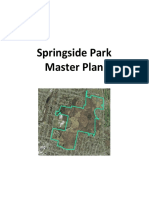 Springside Park Master Plan - Draft
