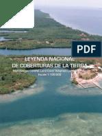 Leyenda Nacional Cobertura Tierra Contenido