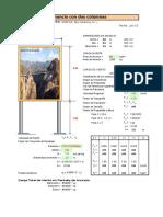 Veridicacìón y diseño de soporte de anuncio