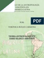 Desarrollo de la Antropología lingüista en AL