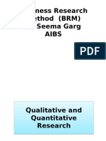 Qualitative Quantitative Research (1)