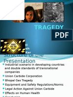 bhopal gas tragedy ppt