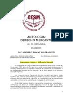 Antologia Derecho Mercantil Cesm