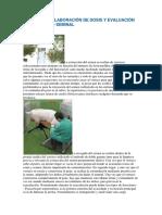 Elaboracion de Dosis y Evaluacion de La Calidad Seminal