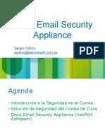 Capacitacion Cisco ESA
