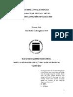 Modul Soal Genesis 10 Stase THT KL Kompleks