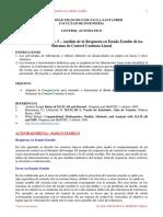 L5 Analisis de Los Sistemas de Control en Regimen Permanente