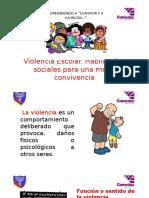 Charla Violencia y Convivencia Escolar