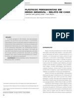 Procedimentos Plásticos Periodontais Em