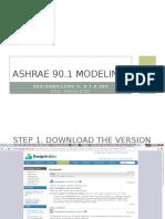 ASHRAE 90 in DesignBuilder