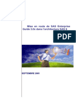 Mise en Route SAS Enterprise Guide 3.0x Architecture SAS9