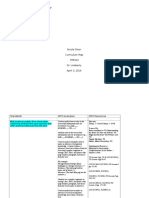 olson nicole ppe310 curriculum map