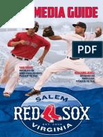 2016 Salem Red Sox Media Guide