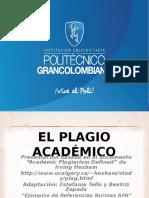 Presentacion Sobre Plagio