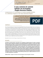 Implantação de Uma Comissão Para Controle de IH Em Um HV.