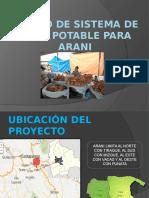 Diseño de Sistema de Agua Potable