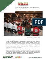 2016-04-01  Encabezaré los proyectos del campo de Chihuahua- Enrique Serrano ante productores