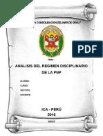 tRABAJO PNP- REGIMEN DISCIPLINARIO DE LA PNP.docx