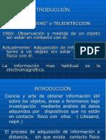 Teledetencion definición y mas