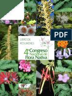 Libro-De-resumenes IV Congreso Nacional Flora Nativa