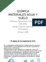 Química Agua y Suelos