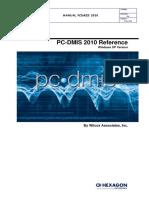 Manual de PCdmis 2010