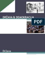 Drzava i Demokracija