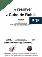 Rubik 3x3x3 en Español