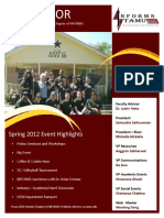 NewslettOR Spring 2012