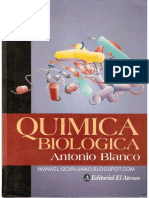 Quimica Biológica Blanco 8va