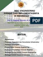 Prof. Ir. Bambang Suhendro, M.sc., Ph.D. - Forensic Engineering Kursus Nov 2015 Final