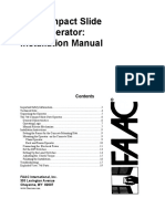 Securitex FAAC-746 EMC Installation Manual
