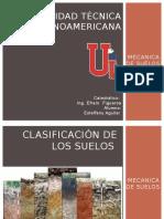 Mecanica de Suelos, TIPOS DE SUELO